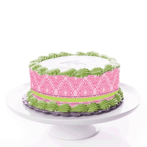tortenband_ornament_rose_gruen_ribbon_tortendruckerei
