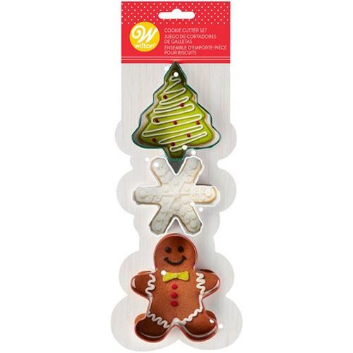 Wilton-KeksausstecherSet-Weihnachten-3tlg