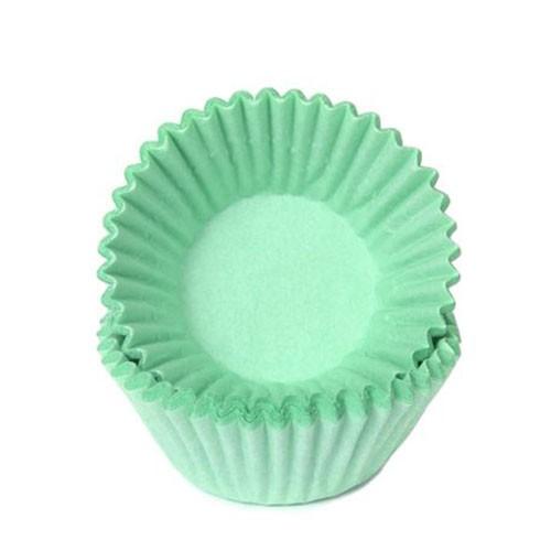 Schokoladen Baking Cups - Papierförmchen - Mint