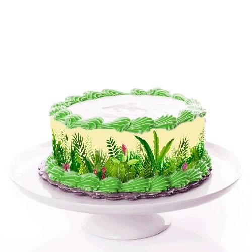 Tortenband_Tropische-Pflanzen_dschunge
