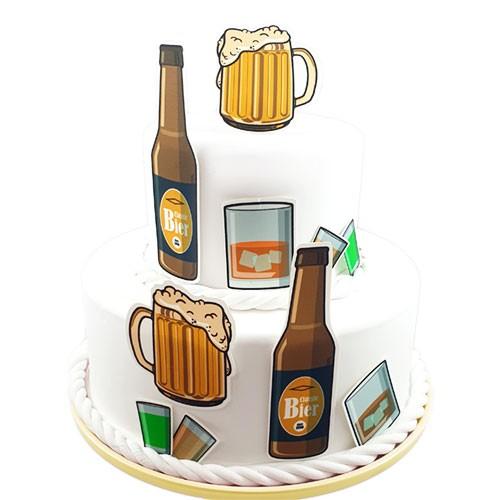 Kuchen-Tortentattoo-Alkohol-Torte