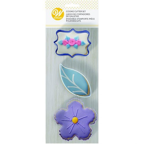 Wilton Cookie Cutters Floral