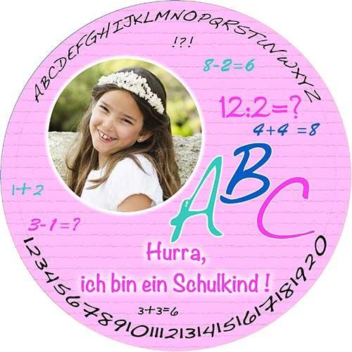 Tortenbild-Tortenaufleger-Schuleinfuehrung-4-Rund-Rosa.jpg