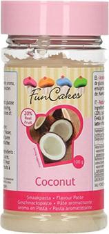 Kokosnuss Geschmackspaste Aromastoff FunCakes 100g