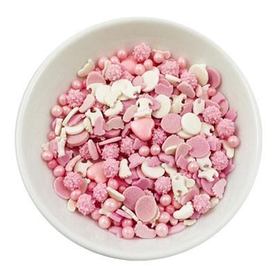 Zuckerstreuselmischung - Baby Girl - 60g