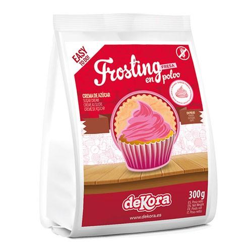 Frosting-Pulver-Erdbeer-Strawberry-Dekora-300g