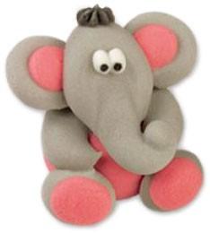Zucker Tierfigur - Elefant