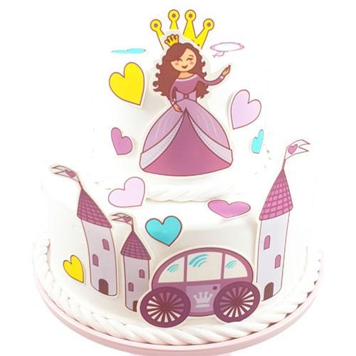 Kuchen-Tortentattoo-Prinzessin