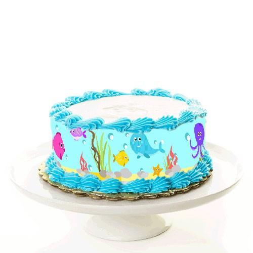 Torte_Tortenband_Fische_Unterwasser_meer_see_tauchen
