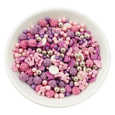 Zuckerstreuselmischung - Prinzessin - 60g