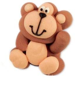 Zucker Tierfigur - Affe