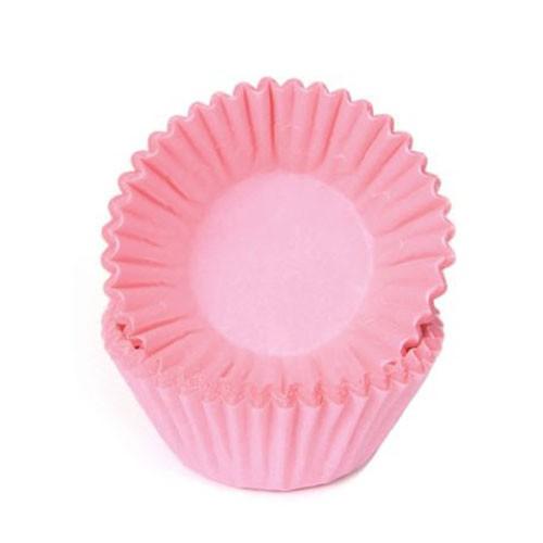 Schokoladen Baking Cups - Papierförmchen - Pink