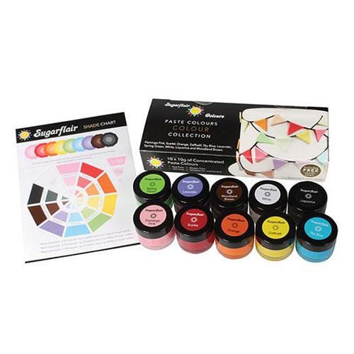 SFZ1100-Sugarflair-Multipaste-Collection-Farbset
