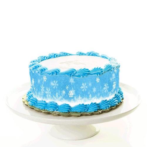 Torte_Tortenband_Frozen_Winter_eiskoenigin_winterlandschadt_elsa