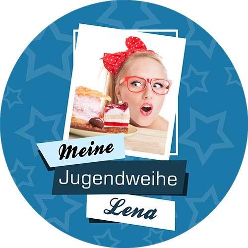 Tortenbild-Tortenaufleger-Jugendweihe-dunkelblau-rund.jpg
