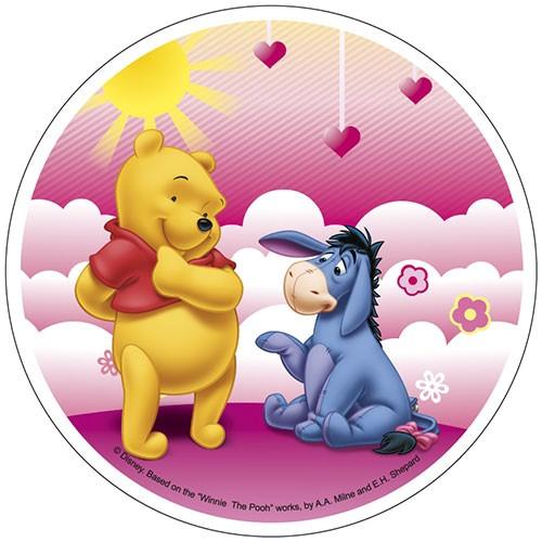 Tortenaufleger Winnie Pooh mit I-Aah aus Waferpaper