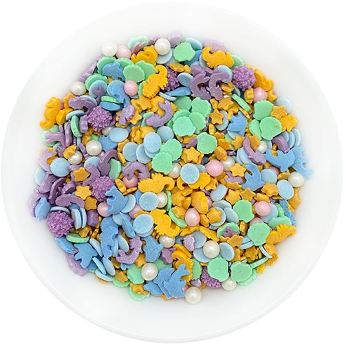 Zuckerstreuselmischung-Mix-Mermaid-Meerjungfrau