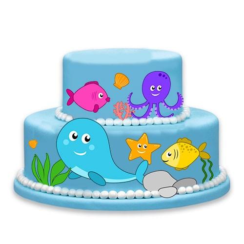 Torten Kuchen Tattoo Meer