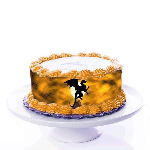 Tortenband_Drache_Dragon_ribbon