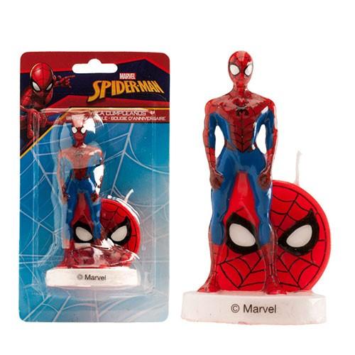 3D Geburtstagskerze - Spiderman