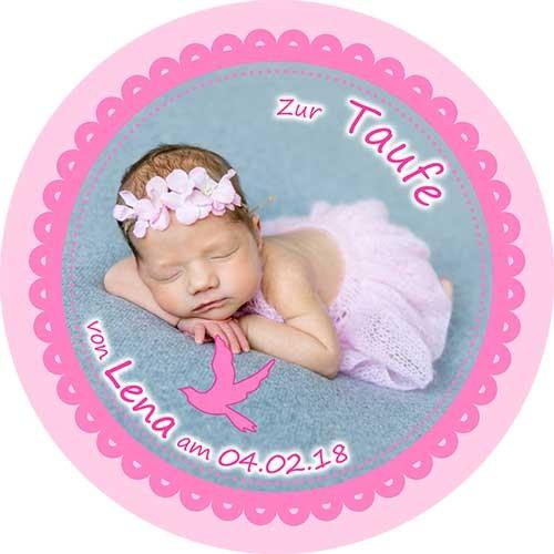 Tortenbild-Tortenaufleger-Taufe-6-Rund-Rosa.jpg