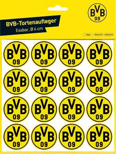 BVB-tortenaufleger-4cm-oblaten-Dortmund-front